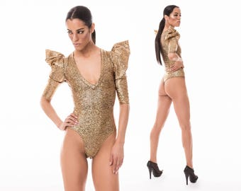 Body String de signature; Porter or holographique, Lady Gaga, Burning Man, danse exotique, Body Sexy, Combishort Festival, LENA QUIST