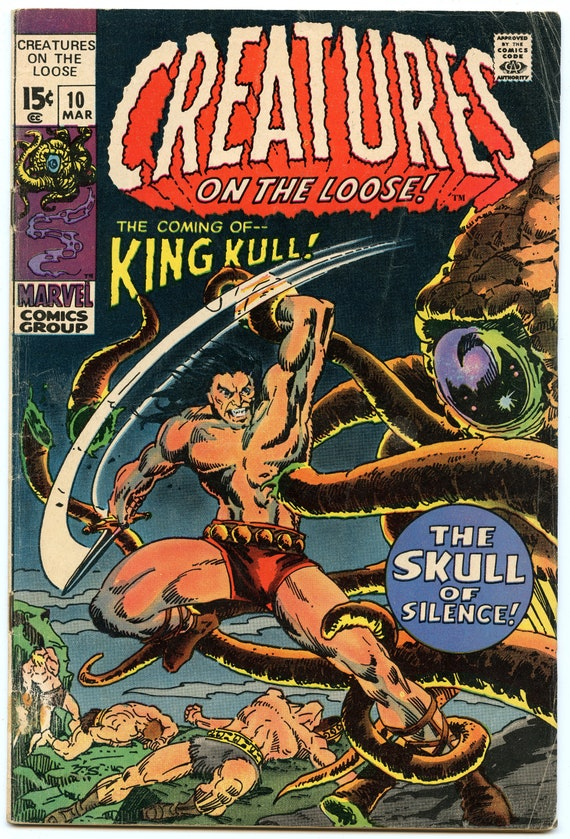 Creatures on the Loose 10 Mar 1971 VG- (3.5)