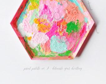 Paint Palette No. 2 Photography Print