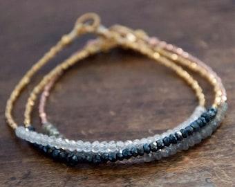 Handmade Minimalist Bracelet Spinel Beaded