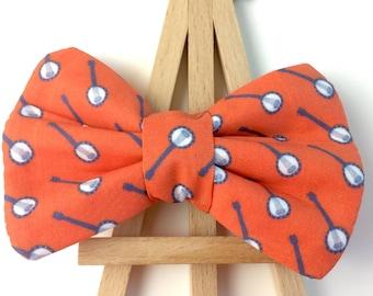 Banjo Bow Tie | Bow Tie for Dogs | Dog Bow Tie | Orange Bow Tie