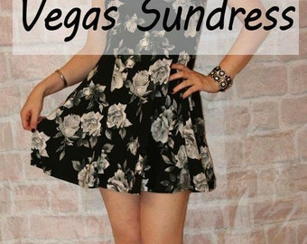 Vegas Sundress PDF sewing pattern