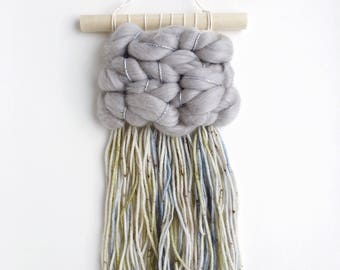 Mini Woven Wall Hanging, Wall Art, Weaving, Ornament
