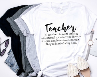 teacher shirts - teacher - teacher gifts - tshirt - graphic tee - thank you teacher - gifts for teachers - teacher tshirt - women