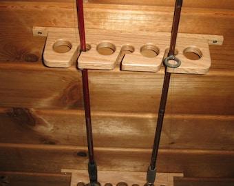7 Fishing Rod Ceiling Storage Holder