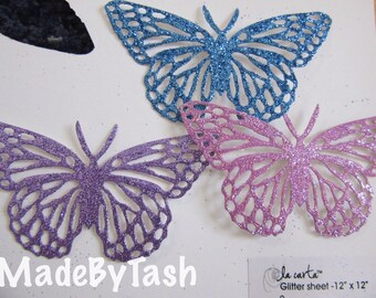 Single Butterfly die cut, choose your colour