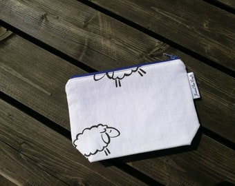 Notions Bag, case, Crazy sheep