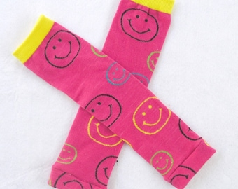 Leg Warmers / Smiley Faces / CLEARANCE SALE