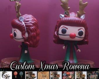 Supernatural Xmas Rowena - Custom Funko pop toy