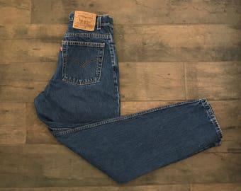 Waist 28 Levi High Waisted Jeans