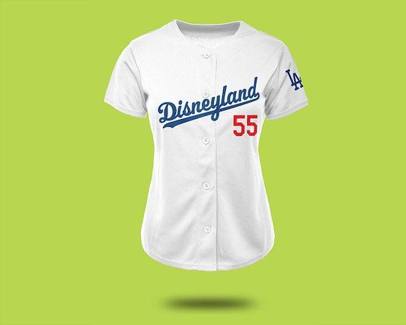 cc11c86e0 womens los angeles dodgers customized white with blue jersey