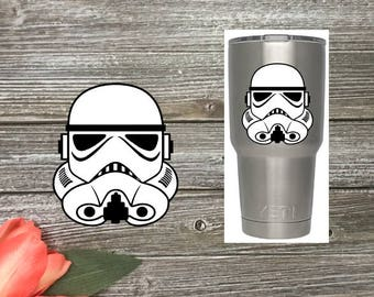 Storm Trooper Decal - Car Decal - Phone Decal - Yeti Decal - Star Wars Decal