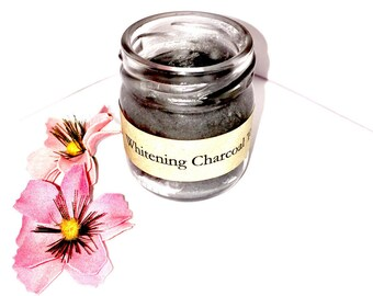 Organic Charcoal Toothpaste, Natural Whitening Toothpaste, Vegan Toothpaste, Activated Charcoal, Toothpaste