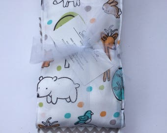 Woodland Critters Burp Cloth Set