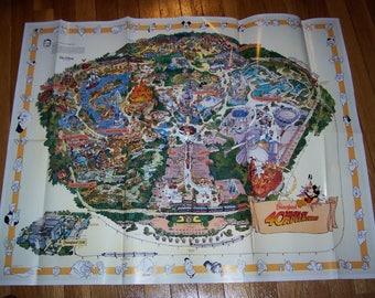 Disneyland 40th Anniversary Misprint Map