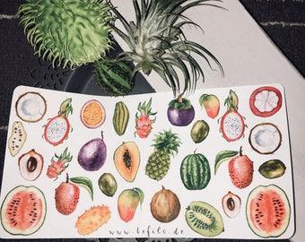 Tutti Frutti stickers