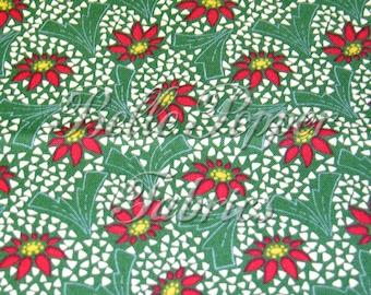 Andover Fabrics Santa Claus Lane Green 1 Yard