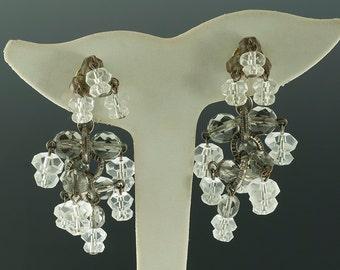 SALE--Beaded Fringe Earrings