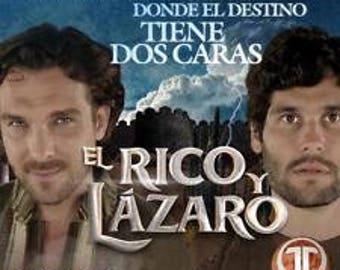 El Rico Y El Lazaro. Telenovela Brazileña 1 Temp 55 Dvds 112 Capitulos