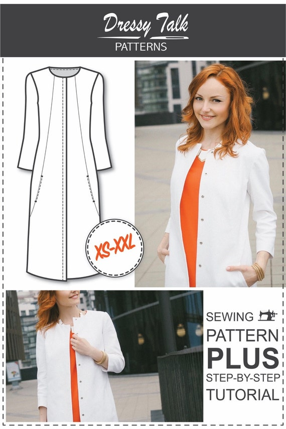 Womens Sewing Patterns - Sewing Tutorials - Coat Patterns - Jacket ...