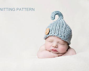 Knitting Pattern - Newborn Beanie // Lil Sprout