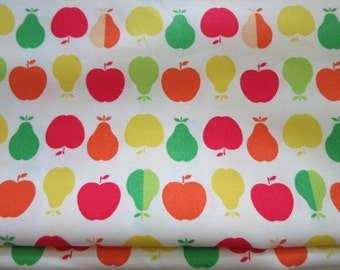 Half Yard - Summer Apples and Pears - Japanese Cotton Fabric