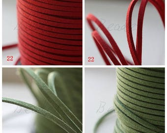 10 Meters Faux Suede Cord - 2.5mm