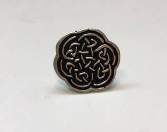 Sterling Silver Celtic Knot Golf Ball Marker