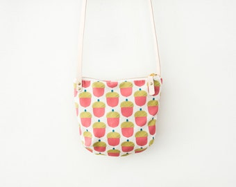 Acorn Crossbody Bag with Leather Strap