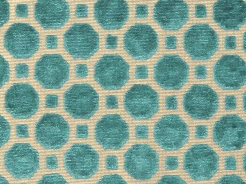 Teal Velvet Fabric Textured Dark Upholstery