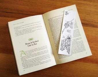 Waterfall Fantasy Map Bookmark