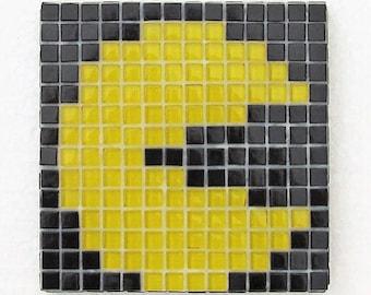 Mosaic coasters; Mosaic place mats; Original Pacman; sets available; practical and waterproof