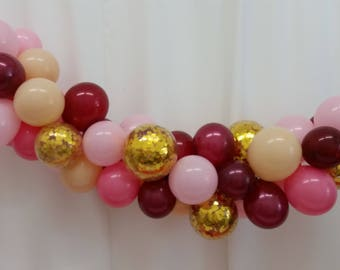 Balloon garland balloon vine balloon decorations diy diy mini balloon garland balloon vine balloon decor kit diy balloon decorating kit junglespirit Images