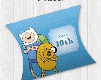 Adventure Time Pillow Boxes