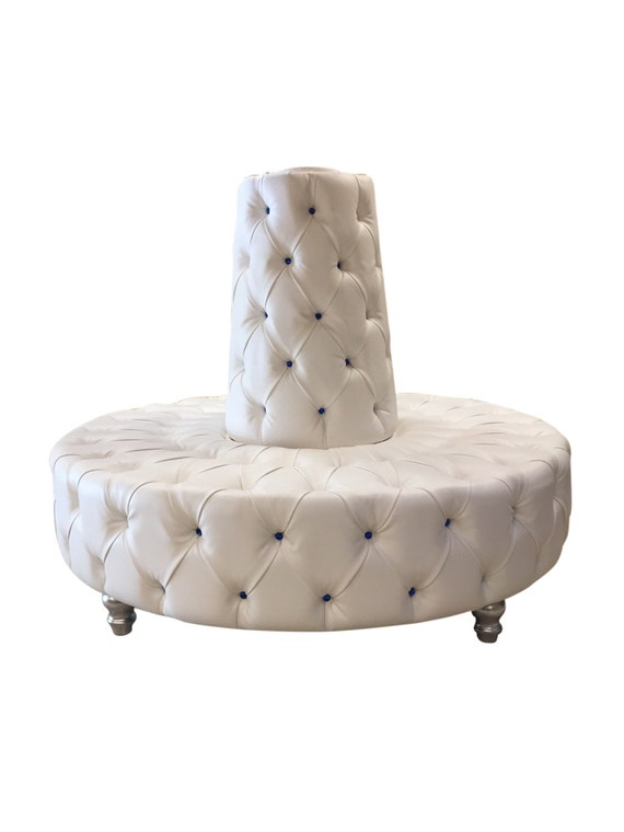 round sofa circular sofa tufted round banquette lobby booth. Black Bedroom Furniture Sets. Home Design Ideas