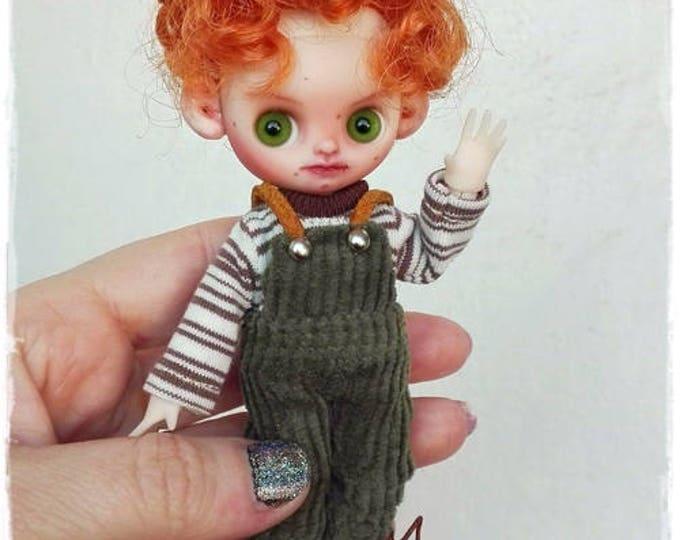 OSCAR Petite Blythe  custom doll by Antique Shop Dolls