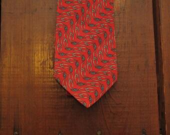 vintage Bally silk tie