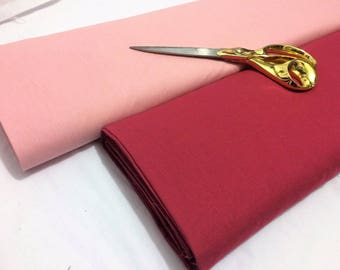 100% Cotton Plain Sheeting Dress/Craft/Cushion/Curtains Fabric