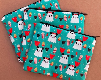 Ghost Mickey and park treats Zipper Pouch - Coin Purse