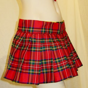 Red and Green Skirts