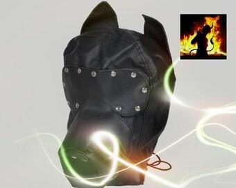 Petplay mask, dog mask