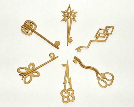 Keys of harmony pendants mlp jewelry kawaii polymer clay aloadofball Gallery