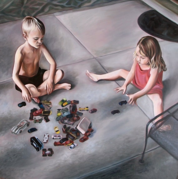 CUSTOM PORTRAIT - Oil Painting - Custom Painted Gift