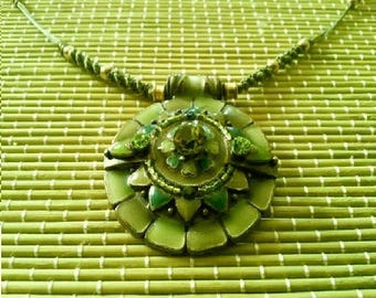 FAIRY goddess of WOOD pendant necklace