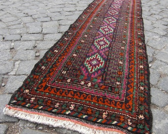 unique runner rug, oushak rug, runner rug, runner for home floor,