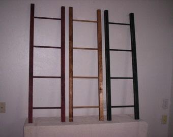 Appy 4 ft Display & Storage Ladder, Quilt Ladder, Blanket Ladder, Decorative Orchard Ladder, Library Ladder, Scarf Ladder, Towel Rack
