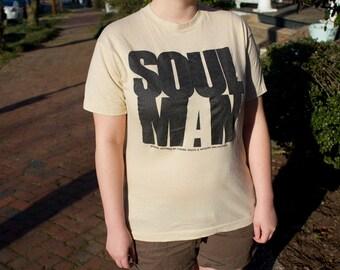 Vintage 1986 Soul Man shirt THIN 80s movie t-shirt RARE HTF