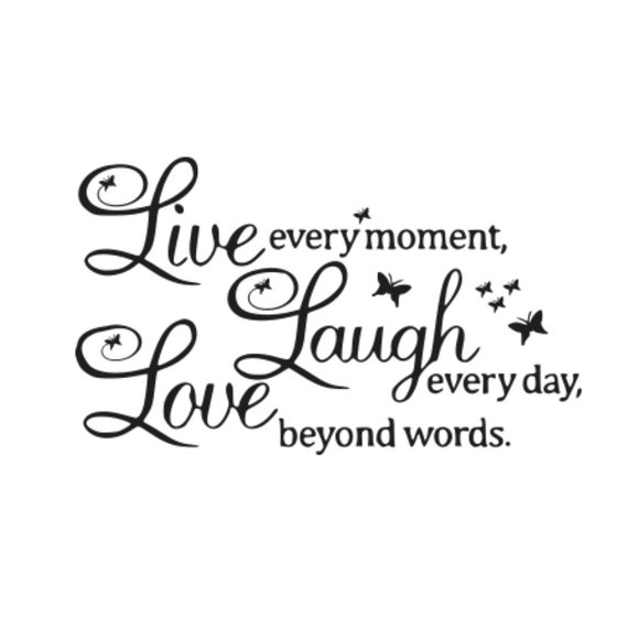 Everyday Love Quotes: Live Laugh Love Svg Pallet Sign Svg Live Every Moment Svg