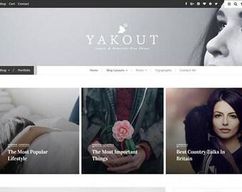 "WordPress Theme ""YAKOUT""  Shop, Portfolio"