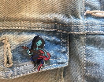 marcy - adventure time merceline aberdeen the vampire queen pin